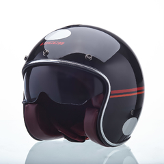 CAPACETE LUCCA CUSTOM RED LINES na internet