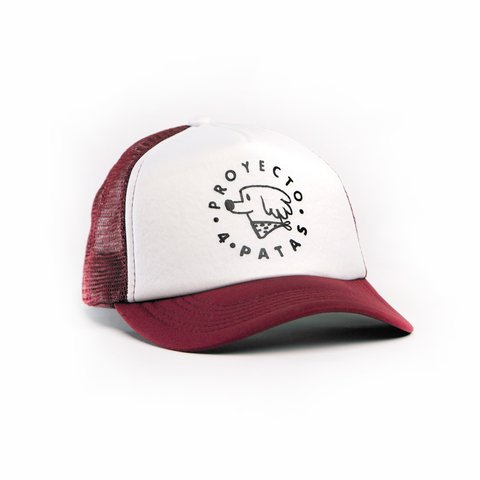 Gorra P4P Bordó