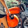 Casco Biltwell Gringo - Orange Hazzard