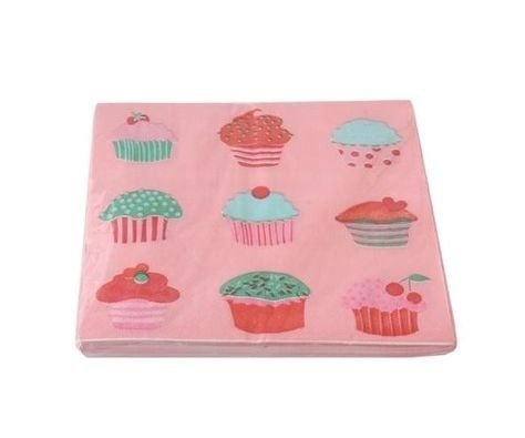 SERVILLETAS WE LOVE CUPCAKES - comprar online