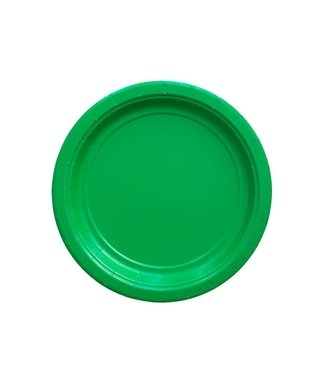BASIC SMALL PLATE GREEN 18 CM