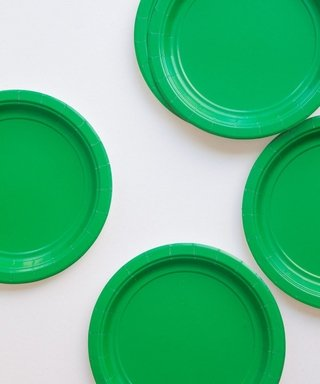 BASIC SMALL PLATE GREEN 18 CM - comprar online
