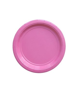 BASIC SMALL PLATE FUCSIA18 CM