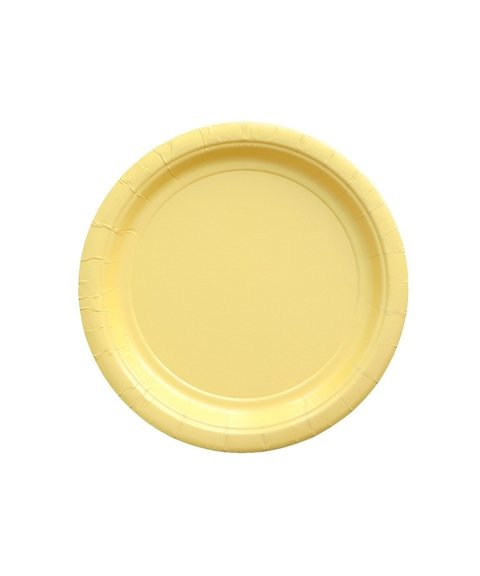 BASIC SMALL PLATE YELLOW 18 CM
