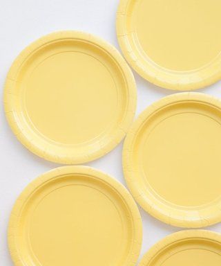BASIC SMALL PLATE YELLOW 18 CM - comprar online