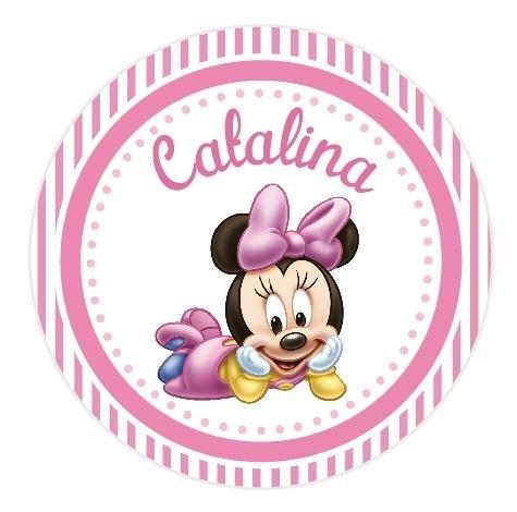 Stickers minnie bebe stk0357 piruletas souvenirs - Image minnie bebe ...