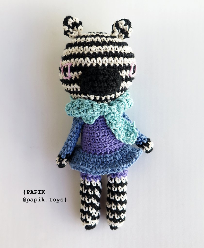 How To Crochet A Cute Toy Zebra - DIY Crafts Tutorial - Guidecentral -  YouTube | 1024x840