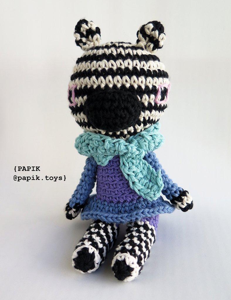 Crochet Zebra PatternFriendly Zebra Crochet Zebra Crochet | Etsy | 1024x788