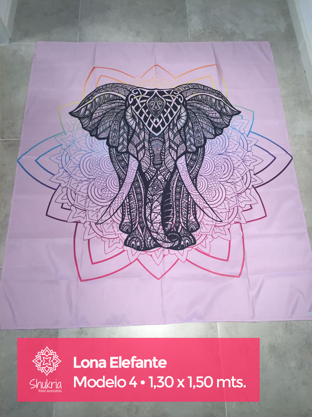 Lonas Elefante - Shukria Travel Accessories