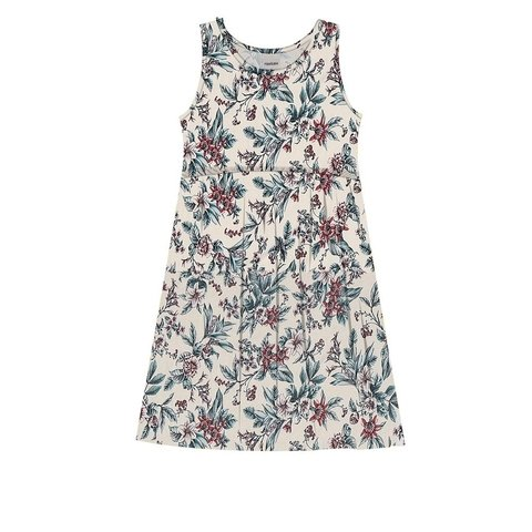 Vestido Infantil Viscose Off White  312411
