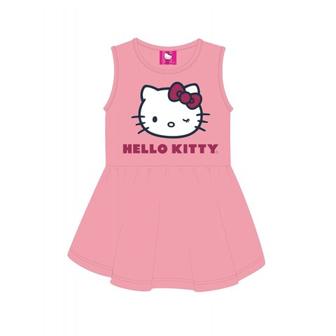 Vestido Hello Kitty Infantil Rosa