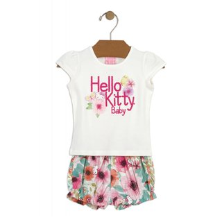Conjunto Hello Kitty Bege