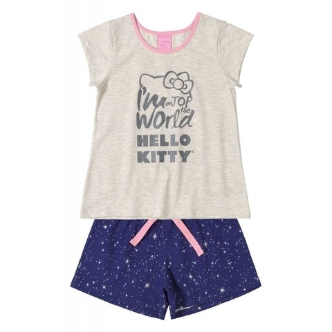 Pijama Infantil Hello Kitty 88154