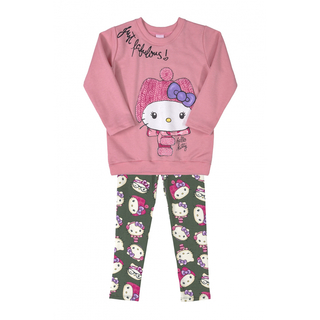 Conjunto Hello Kitty Rosa  88178