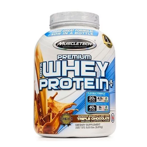 100% PREMIUM WHEY PROTEIN PLUS 2270G CHOCOLATE - MUSCLETECH