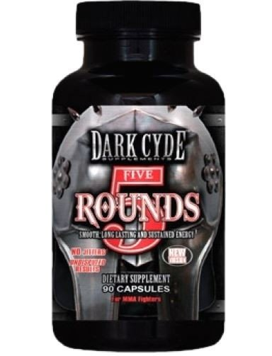 FIVE ROUNDS (90 CAPS) - DARK CYDE
