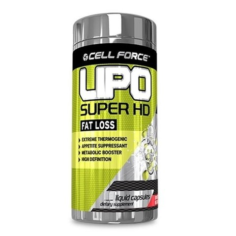 LIPO SUPER HD 60 Cápsulas CELL FORCE