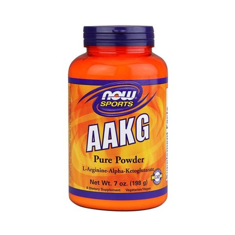 AAKG POWDER 198G - NOW SPORTS
