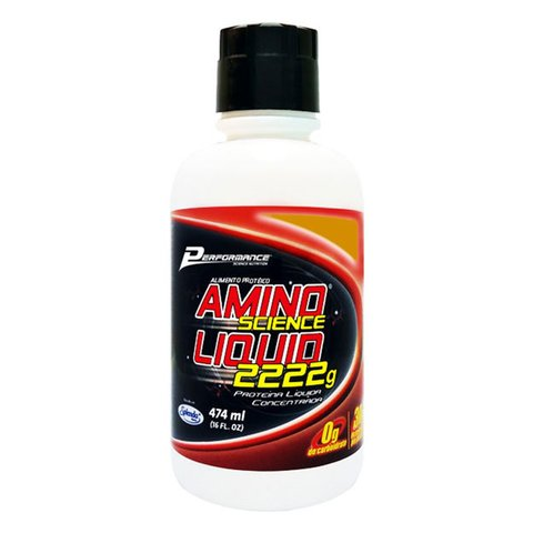 AMINO SCIENCE LIQUID 2222G 474ML - PERFORMANCE