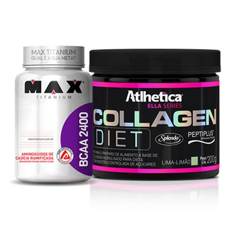 COMBO - BCAA 2400 60/100(CAPS) + COLLAGEN DIET 200G
