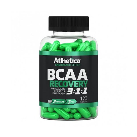 BCAA RECOVERY 3:1:1 ENDURANCE SERIES 120(CAPS) - ATLHETICA NUTRITION
