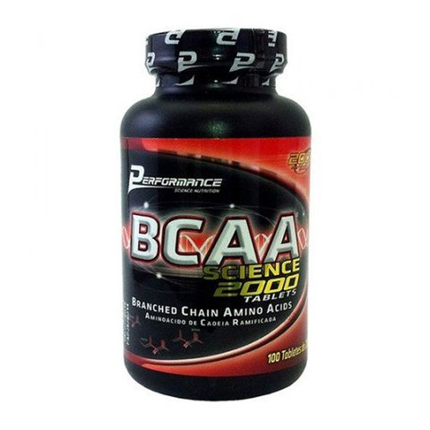 BCAA SCIENCE 2000 100(TABLETES ) - PERFORMANCE NUTRITION