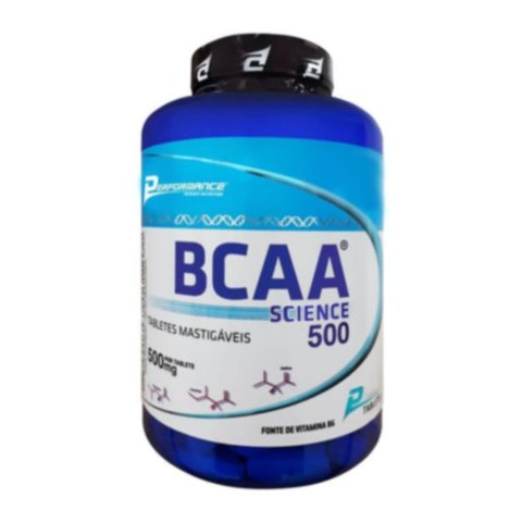 BCAA SCIENCE 500MG 200(TABS) MASTIGÁVEIS - PERFORMANCE NUTRITION