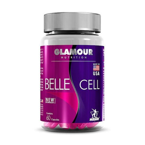 MULTIVITAMÍNICO BELLE CELL GLAMOUR 60(CAPS) - MIDWAY