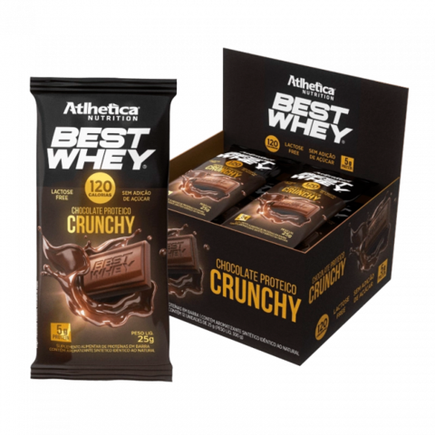 BEST WHEY CHOCOLATE PROTEICO 12(UNID-25G) - ATLHETICA NUTRITION