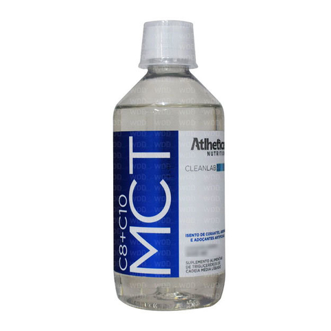 MCT C8 + C10 250ML - ATLHETICA NUTRITION CLEANLAB