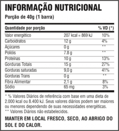 CHOCO CRUNCH BAR CHOCOLATE PROTEICO 40G  C/12 UNIDADES - PROBIOTICA