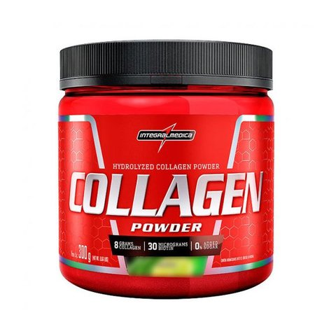 Pote com COLLAGEN POWDER 300G - INTEGRAMMEDICA
