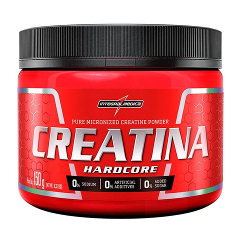 CREATINA HARDCORE 1KG/300G/150G - INTEGRALMÉDICA