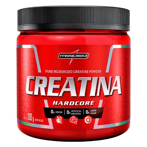CREATINA HARDCORE 300G/150G - INTEGRALMÉDICA