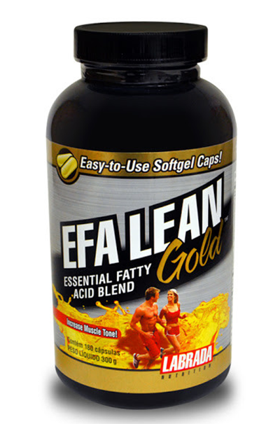 EFA LEAN GOLD 180 (CAPS) - LABRADA