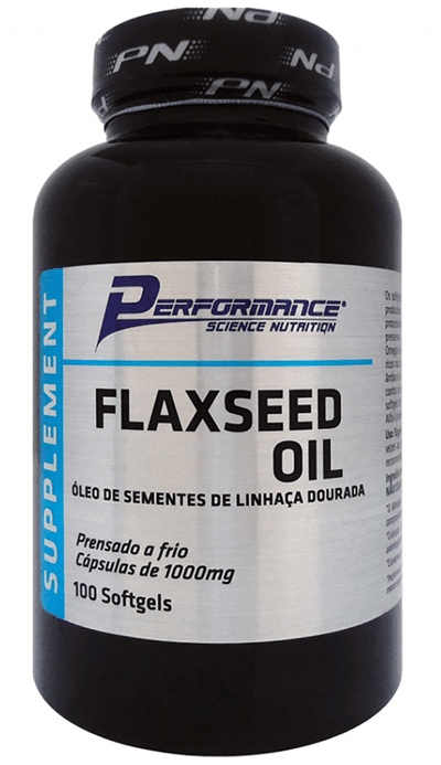 FLAXSEED OIL 100(SOFTGELS) - PERFORMANCE NUTRITION