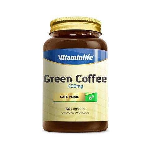 Pote com GREEN COFFEE 400MG 60(CAPS) - VITAMINLIFE