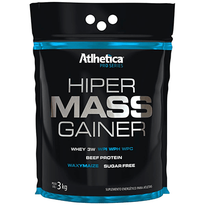 HIPER MASS GAINER 3KG - ATLHETICA NUTRITION