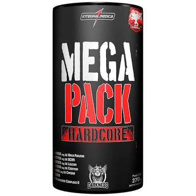 MEGA PACK HARDCORE 30 PACKS - INTEGRALMÉDICA
