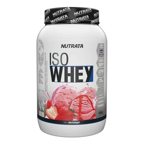 ISO WHEY 900G/1.8KG - NUTRATA