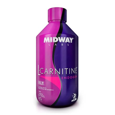L-CARNITINA ENDOGEN GLAMOUR 500ML - MIDWAY