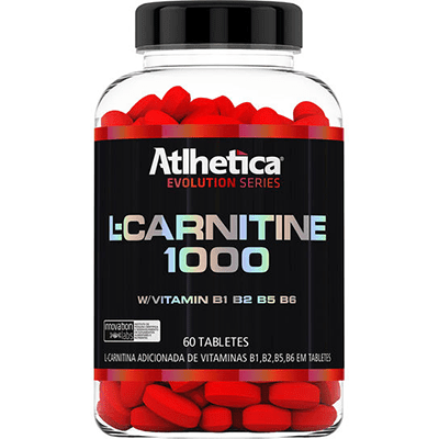 L-CARNITINE 1000 60(TABS) - ATLHETICA NUTRITION