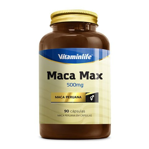 Pote com MACA MAX 500MG 90(CAPS) - VITAMINLIFE