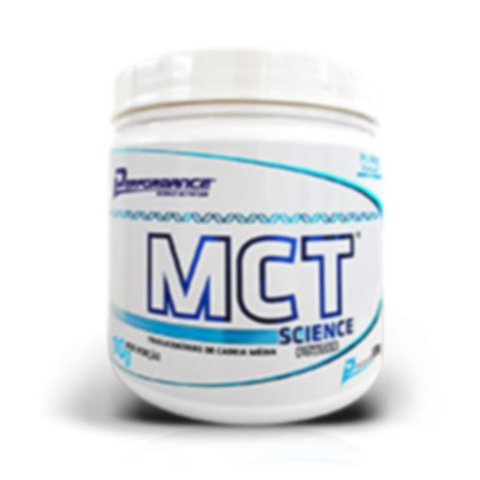 Pote com MCT SCIENCE POWDER 300G  - PERFORMANCE NUTRITION