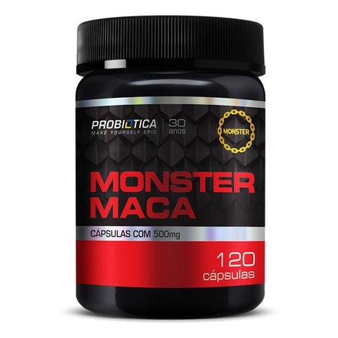 MONSTER MACA 120(CAPS) - PROBIÓTICA