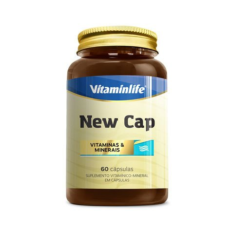NEW CAP VITAMINAS E MINERAIS 60(CAPS) - VITAMINLIFE