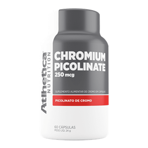 CHROMIUM PICOLINATE 60(CAPS) - ATLHETICA NUTRITION