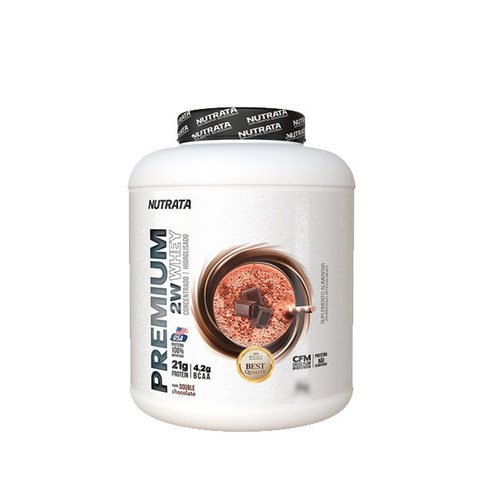 PREMIUM 2W WHEY 900G/2KG Double Chocolate - NUTRATA