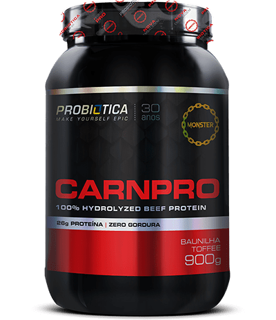 CARNPRO 100% HYDROLYZED BEEF PROTEIN 900G - PROBIOTICA