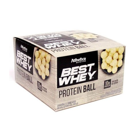BEST WHEY PROTEIN BALL 50G CAIXA COM 12(UNID) - ATLHETICA